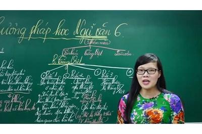 Cách học tốt môn ngữ văn lớp 6